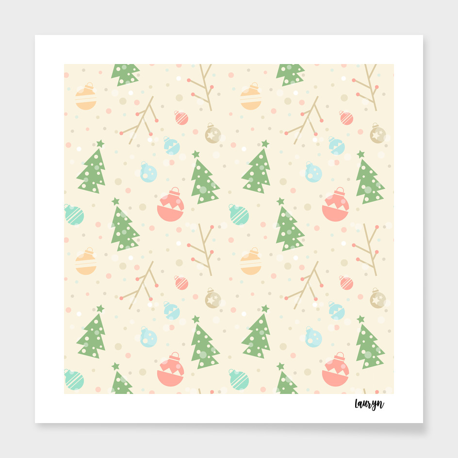 A simple Christmas pattern