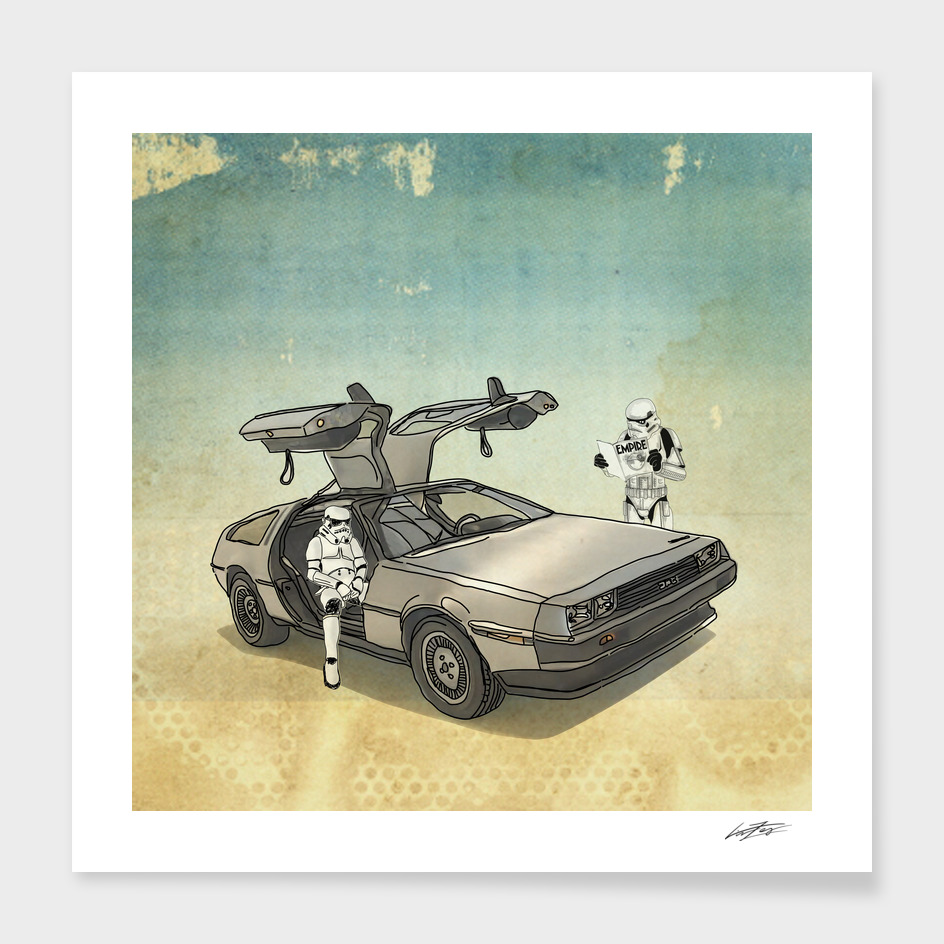 STORMTROOPER IN A DELOREAN II