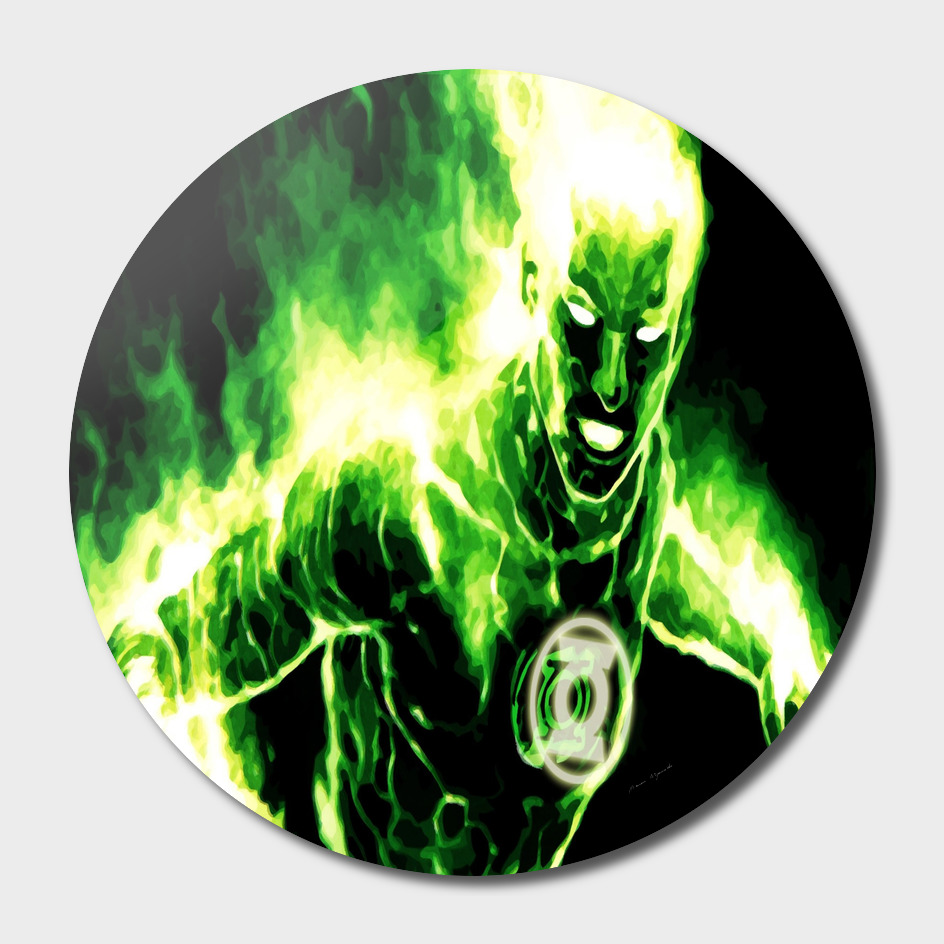Green Lantern Wallpaper Superhero