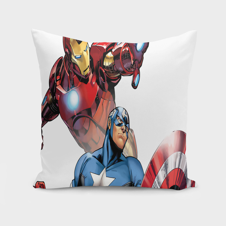 Iron Man Captain America superhero