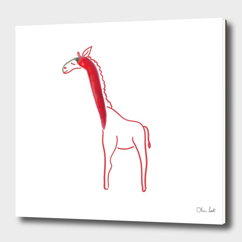 Chili giraffe