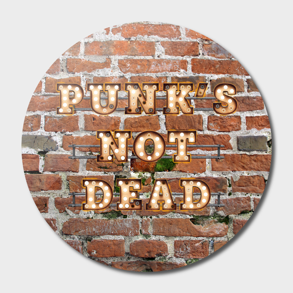 Punks not Dead - Brick