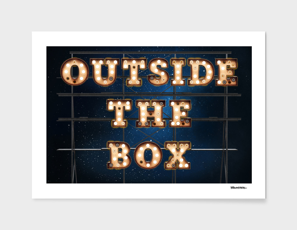 Outside the Box - Wall-Art for Hotel-Rooms