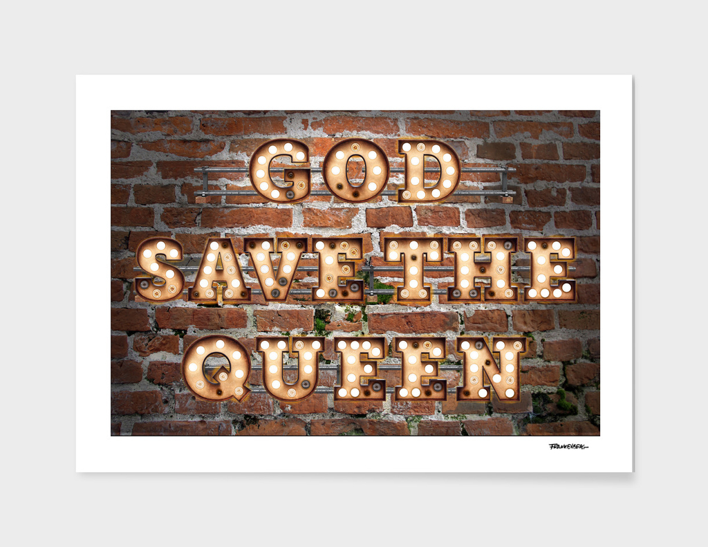 God save the Queen  - Brick