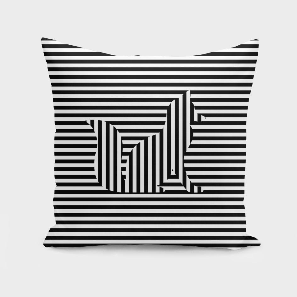 Fox on Stripes Graphic