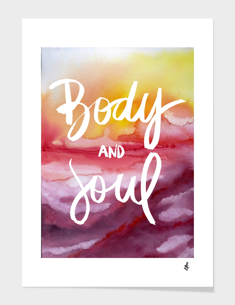 Body & Soul (Collaboration with Jacqueline Maldonado)