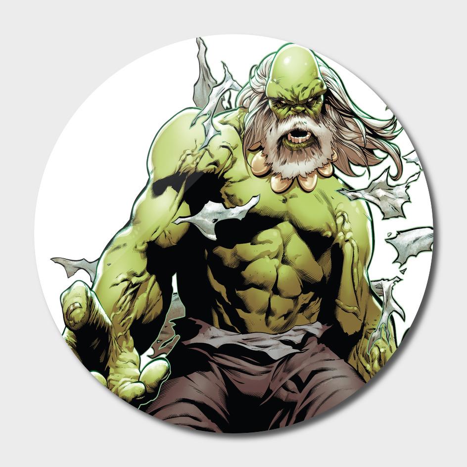 Meastro Hulk Green Big Monster Old Herro