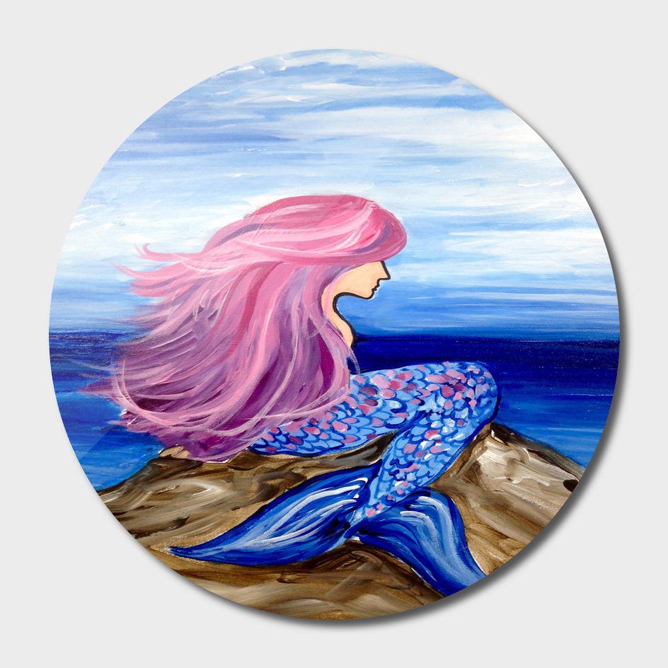 Mermaid sea beach beauty blue sky