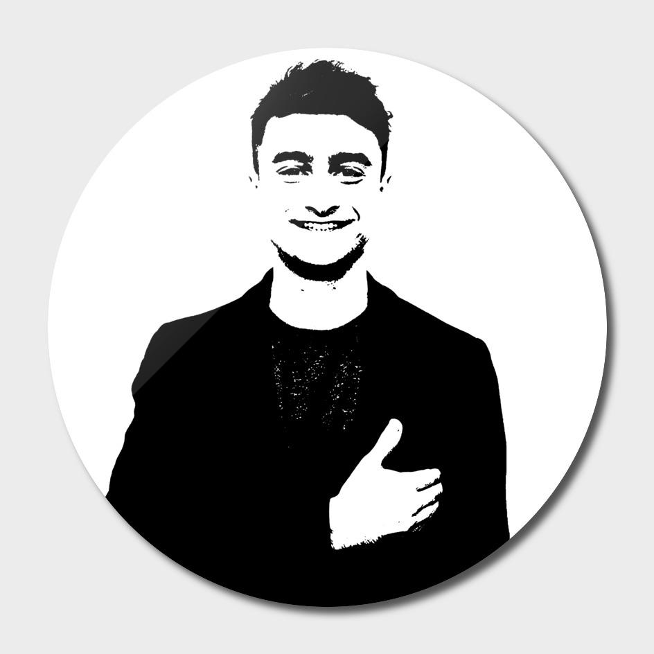 Daniel Radcliffe Stencil