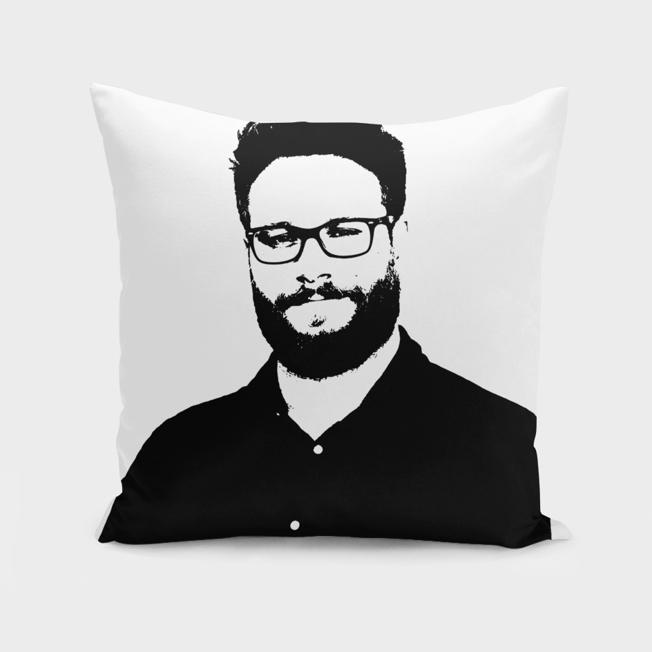 Seth Rogen Stencil