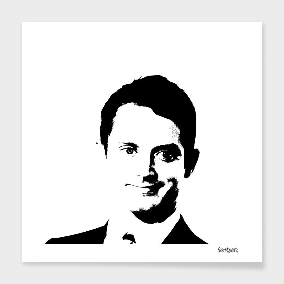 Elijah Wood Stencil