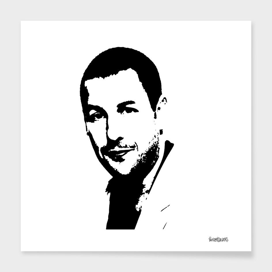 Adam Sandler Stencil