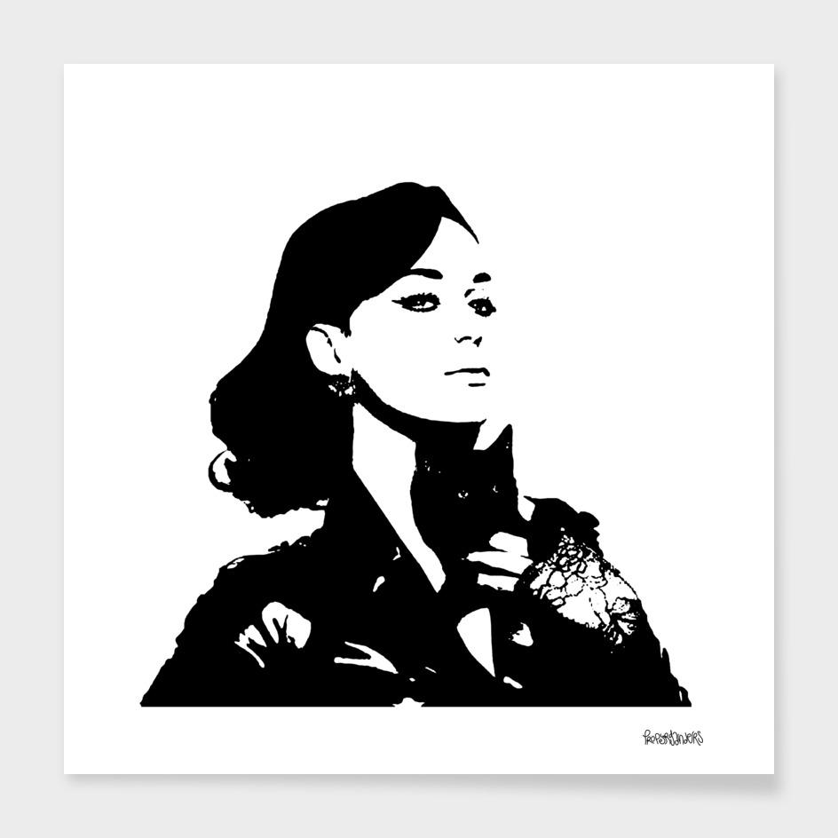 Katy Perry Stencil