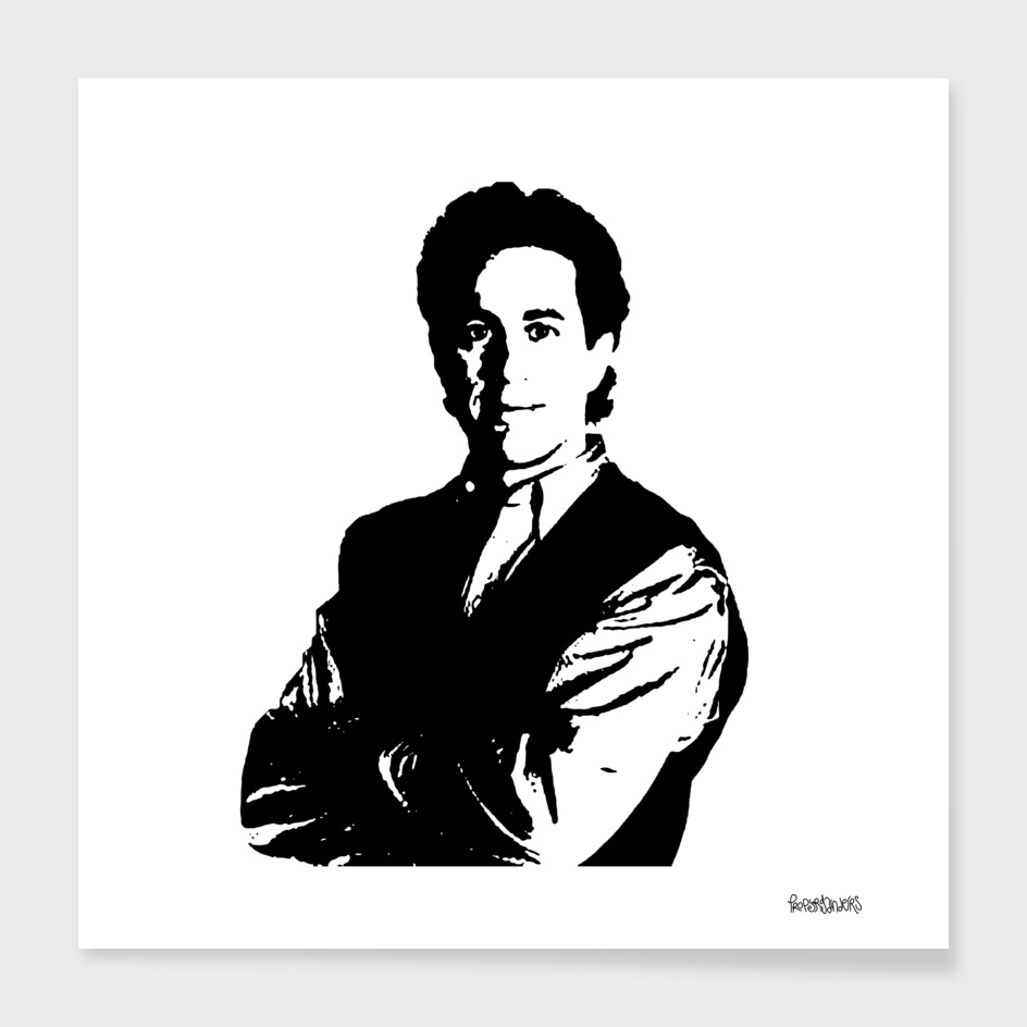 Jerry Seinfeld Stencil