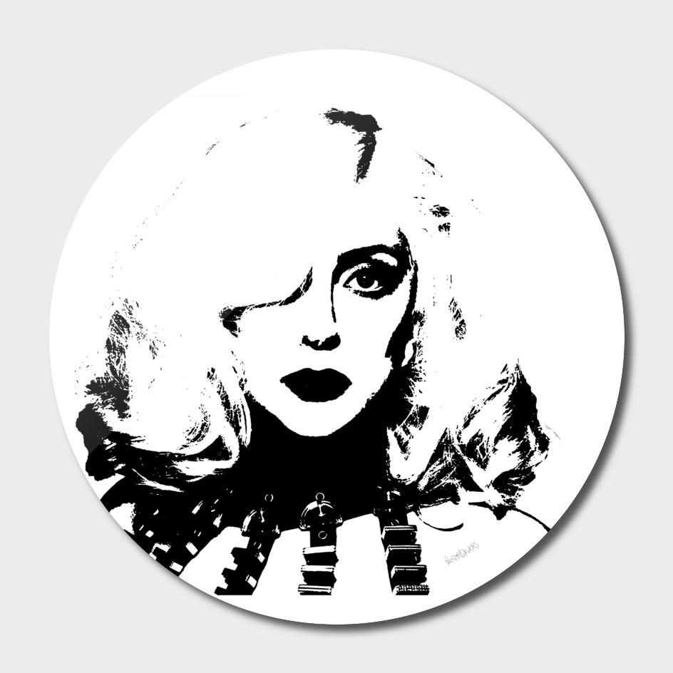 Lady Gaga Stencil