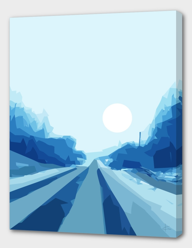 Quiet Blue Road