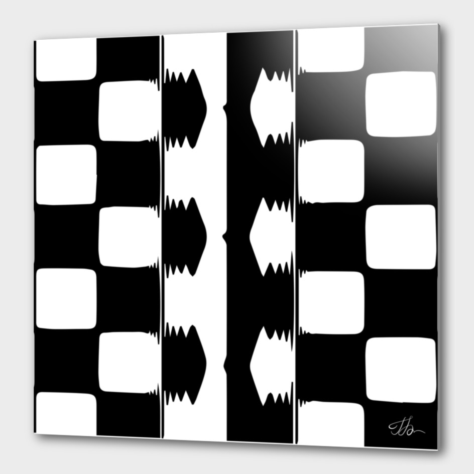 Arrows on the checkerboard