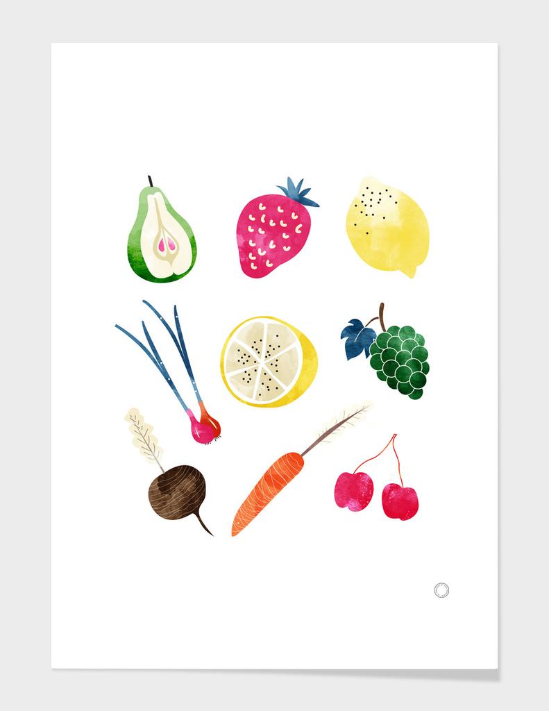 Veggie Heaven-art-print