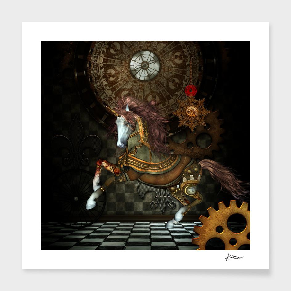 Mystical steampunk unicorn