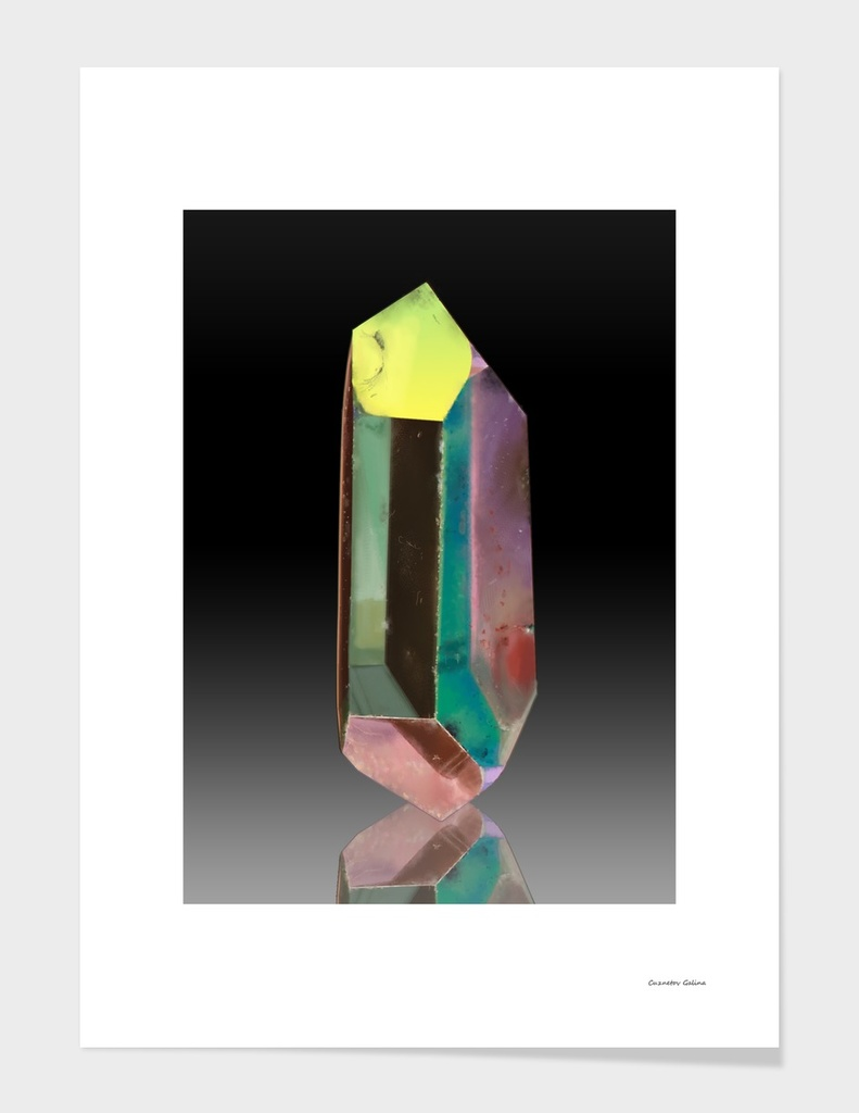 Crystal - Opal Aura Quartz
