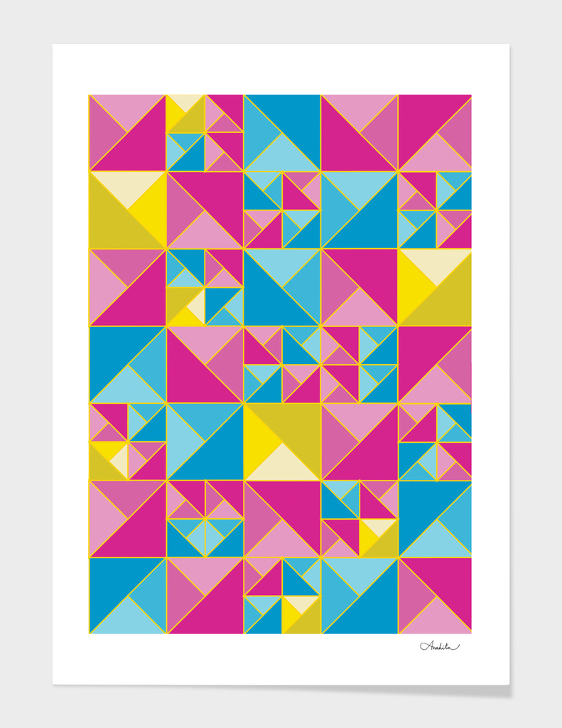 Triangular Shapes Pattern