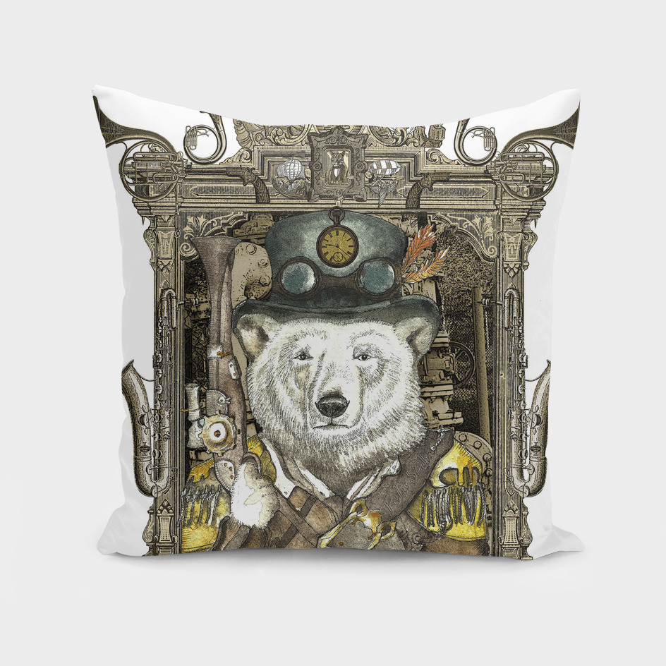 Polar Bear Warden with Steampunk Frame