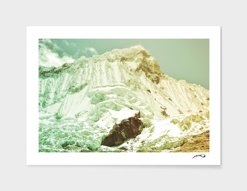 The Mountain by #Bizzartino