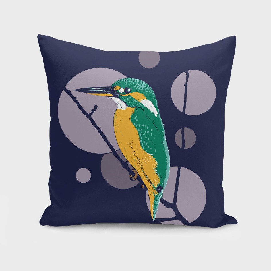 Kingfisher on a bough