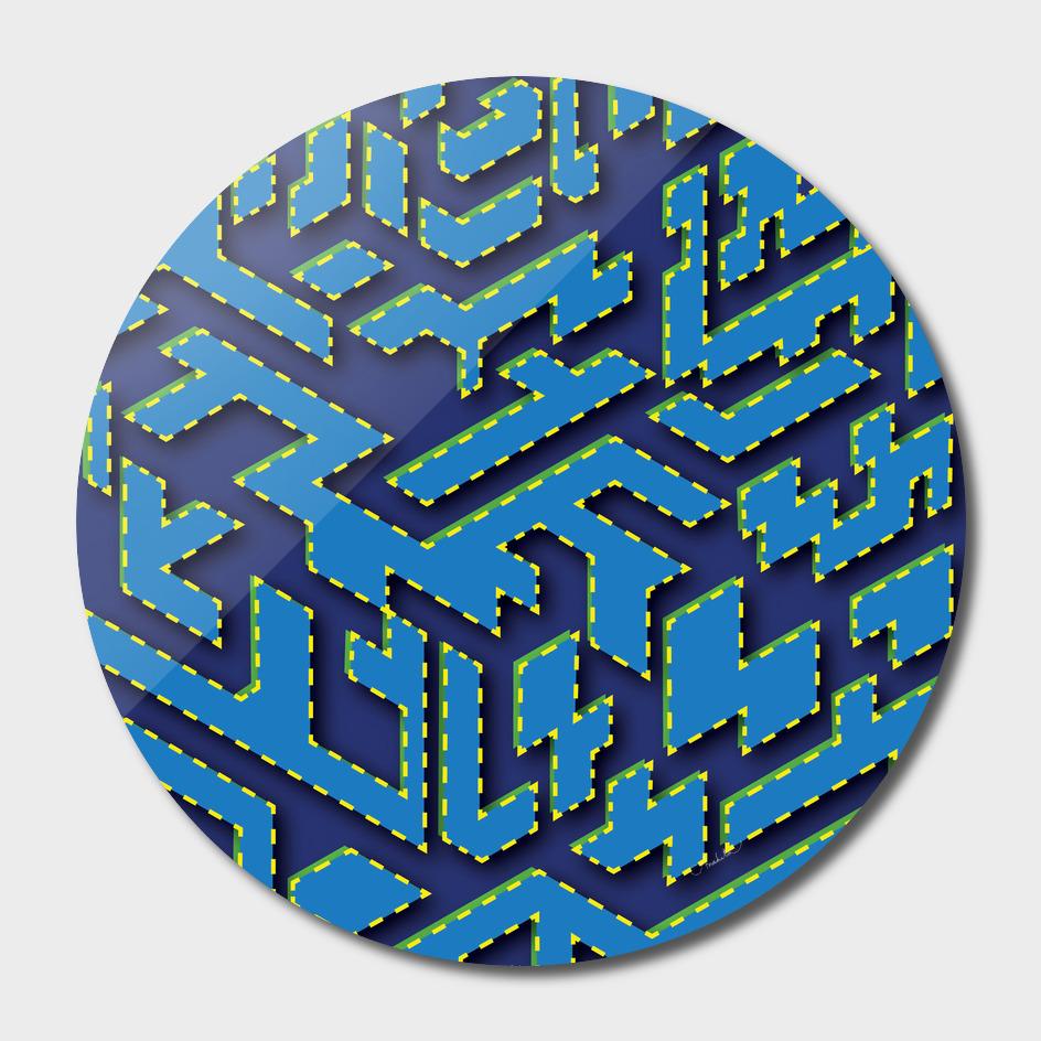 Isometric puzzle