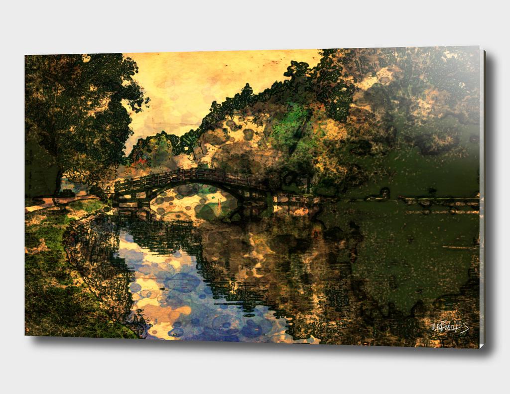 Tom Patterson Bridge, Stratford, at Dusk