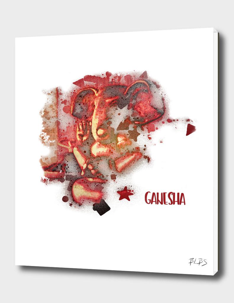 Red Ganesha
