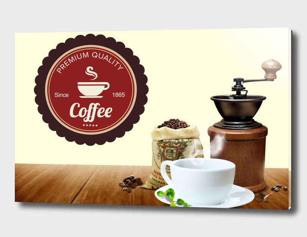 Coffee Poster 64 - Premium Logo