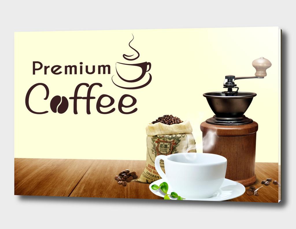 Coffee Poster 66 - Premium Logo
