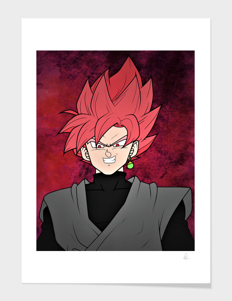 Dragon Ball *Goku Black, Super Saiyan Rose*
