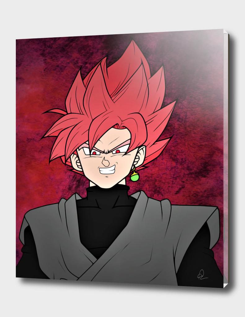 Dragon Ball *Goku Black, Super Saiyan Rose*