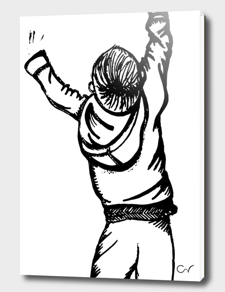 boy sketch illustration