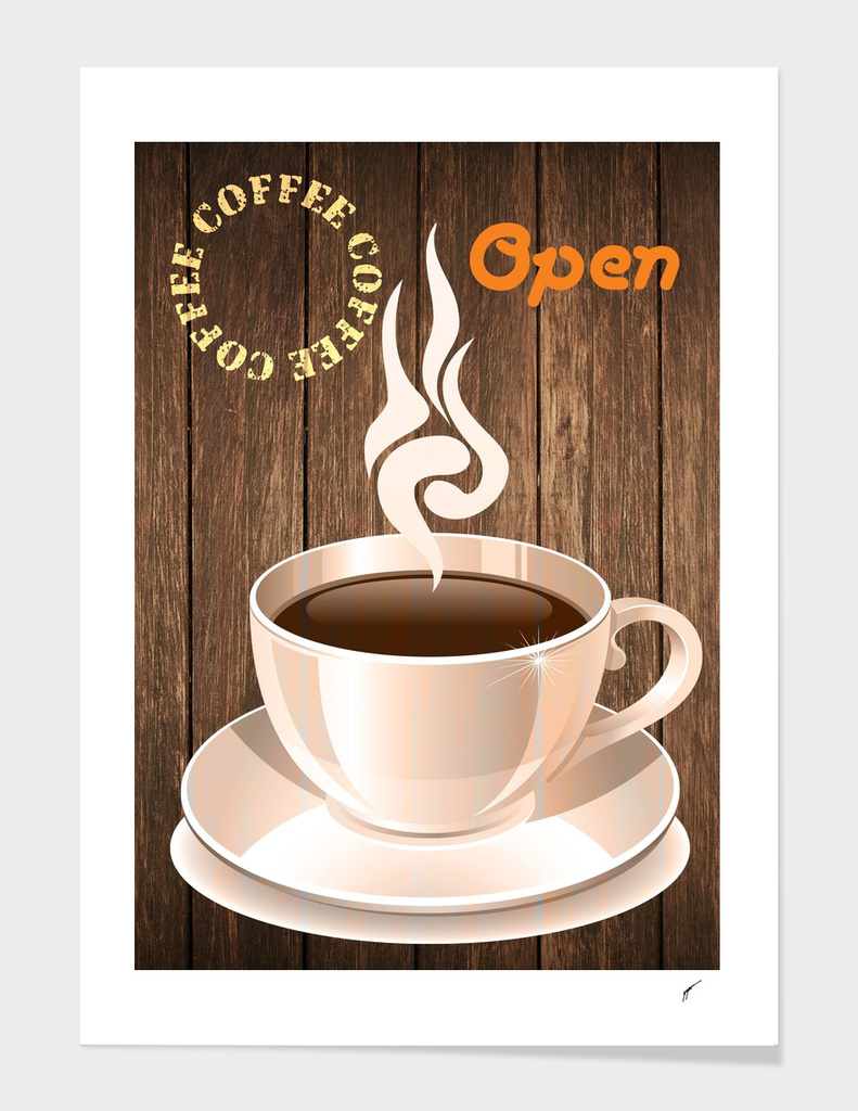 Coffee Poster 79 - Open