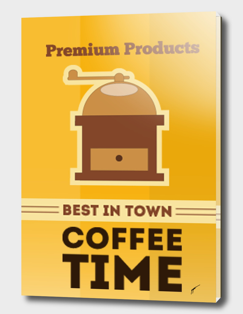 Coffee Poster 89 - Coffee Time