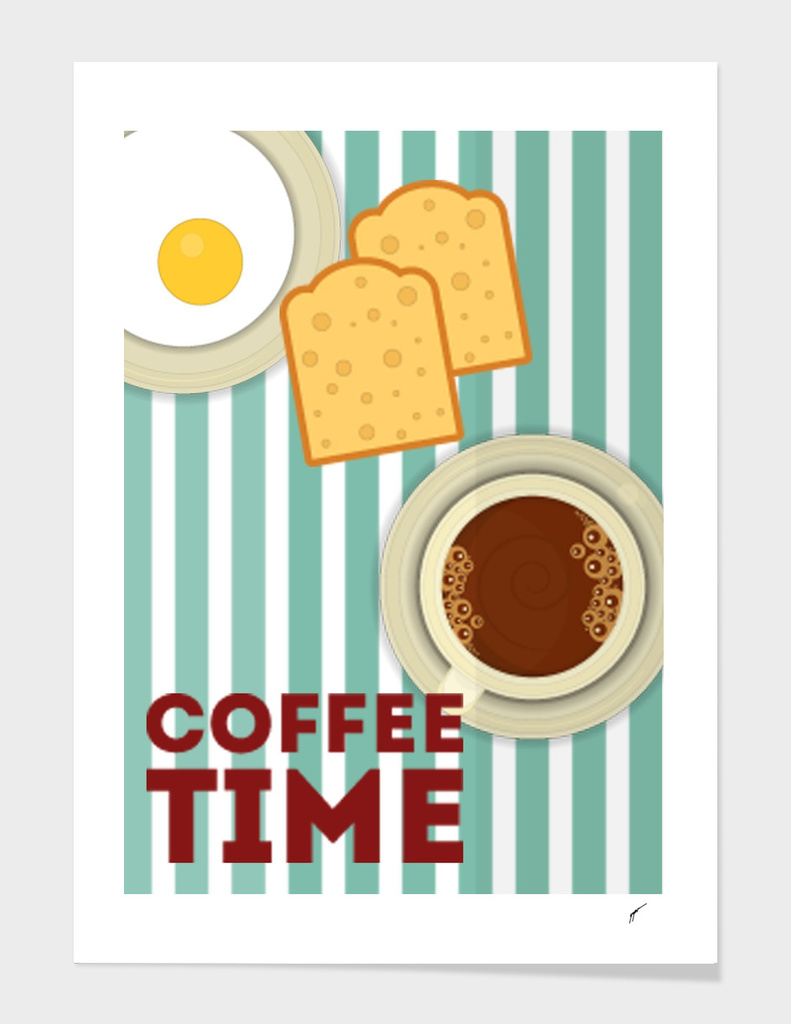 Coffee Poster 90 - Coffee Time