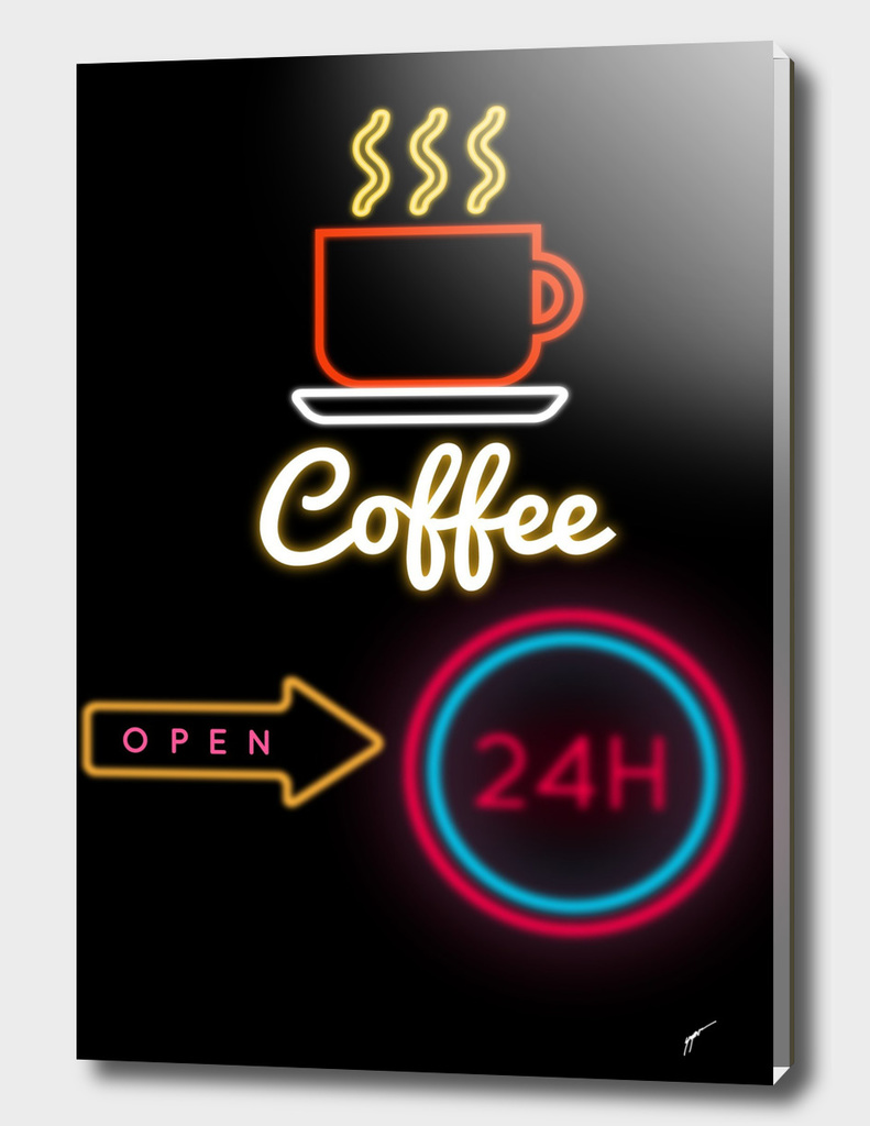 Coffe Poster 93 - Neon 24H