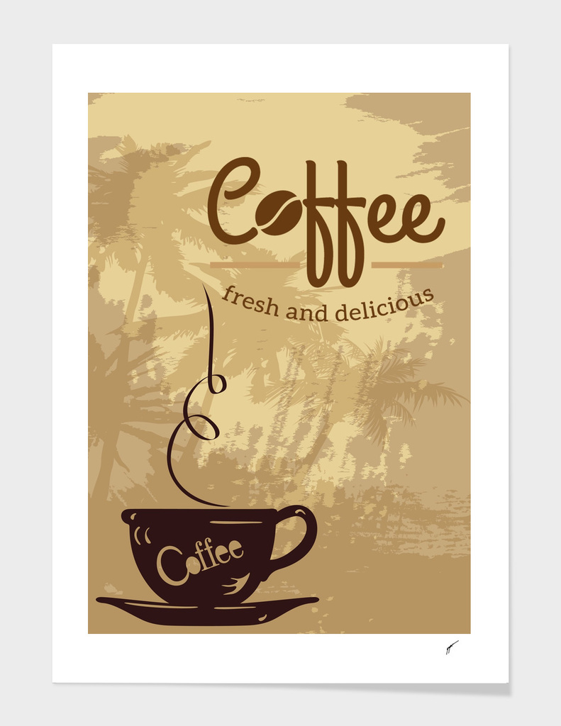 Coffee Poster 101 - Fresh