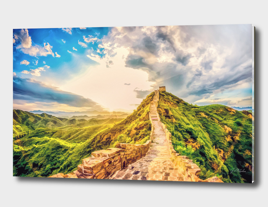 Great Wall of China oil painting