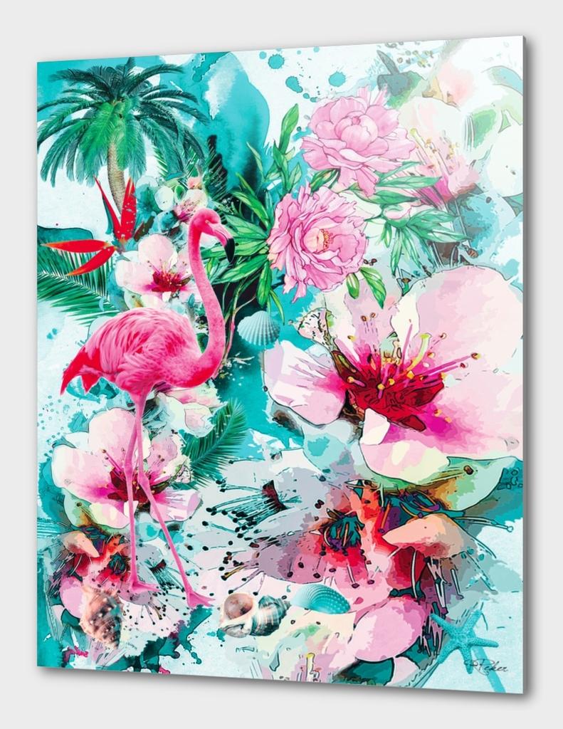 Flamingo - Tropical Life