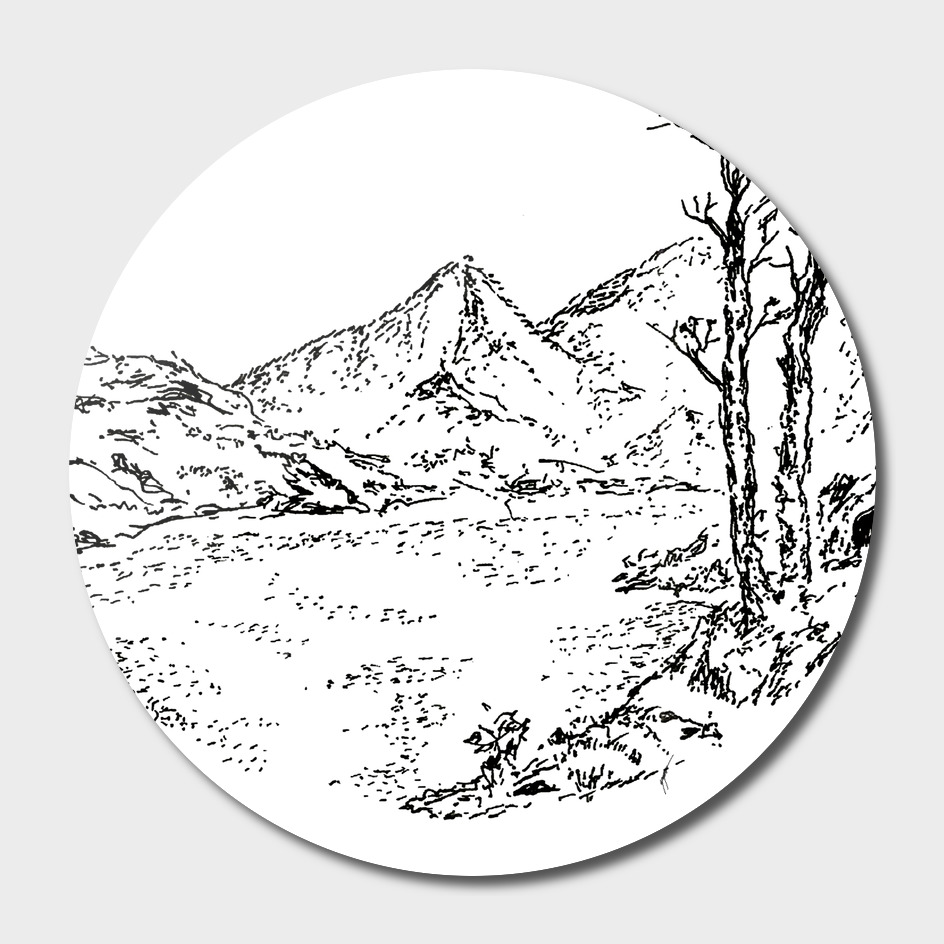 Sketch 02 - Mountain View