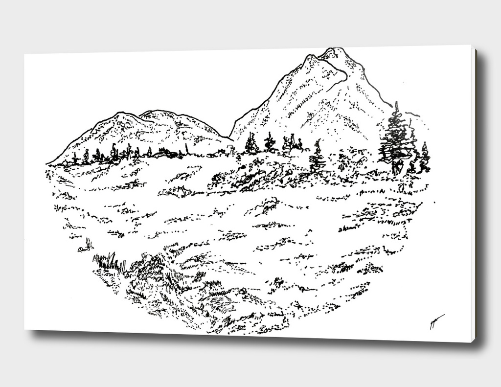 Sketch 05 - Mountain View