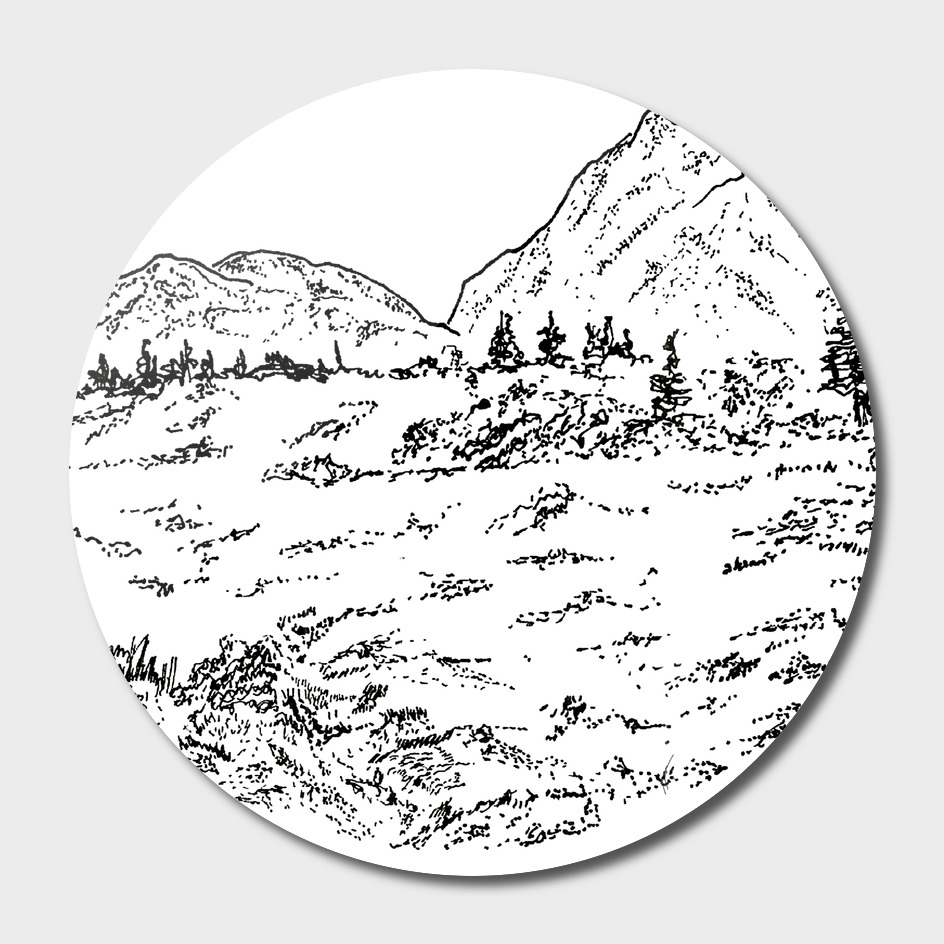 Sketch 05 - Mountain View