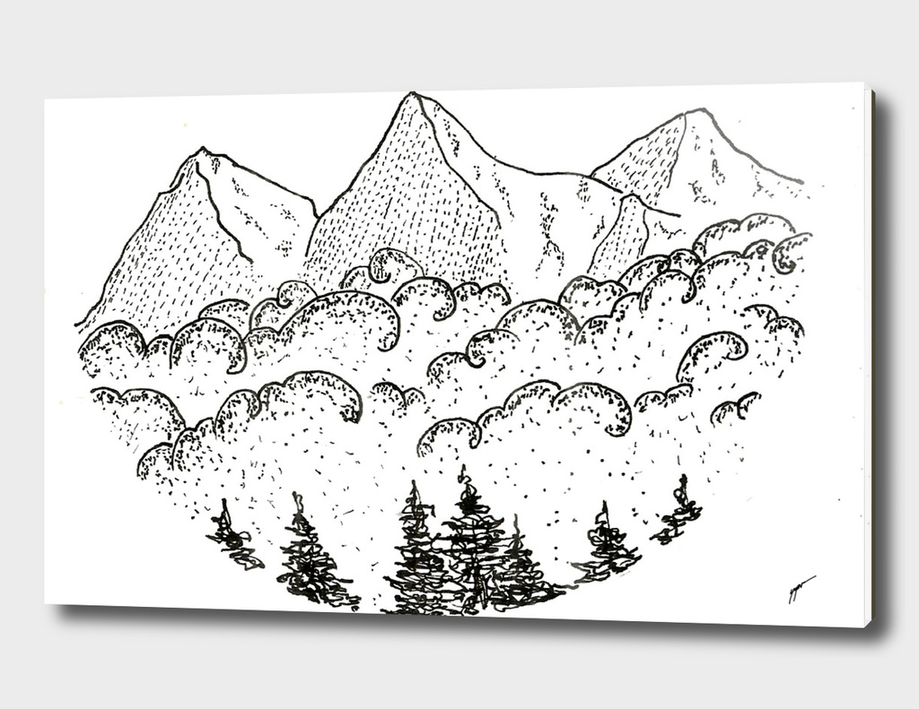 Sketch 07 - Mountain View