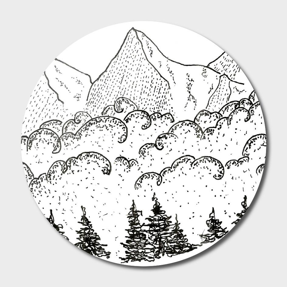 Sketch 07 - Mountain View
