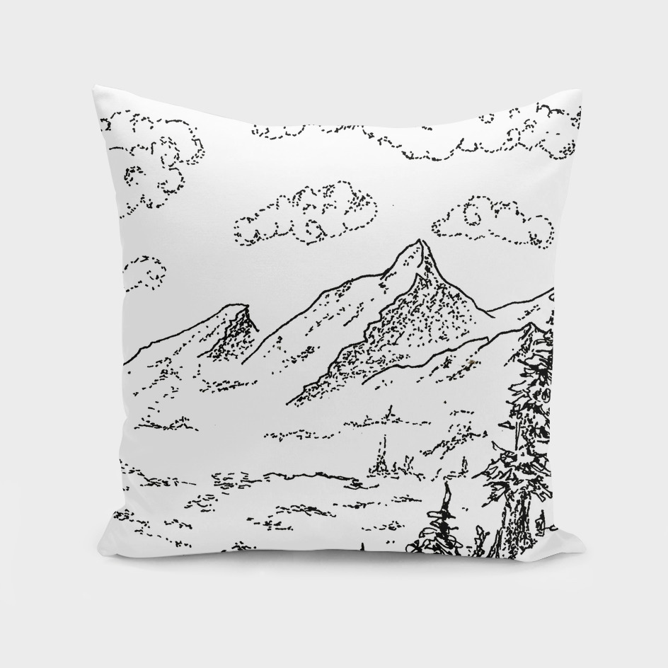 Sketch 09 - Mountain View