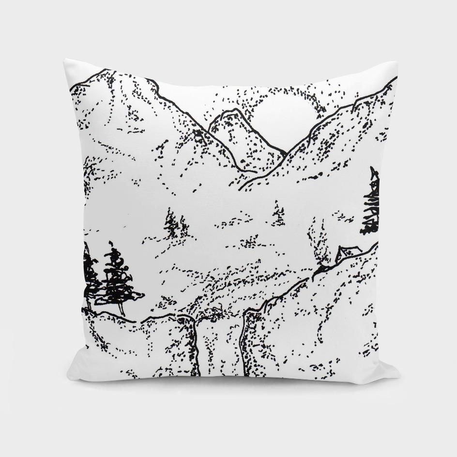 Sketch 11 - Mountain View